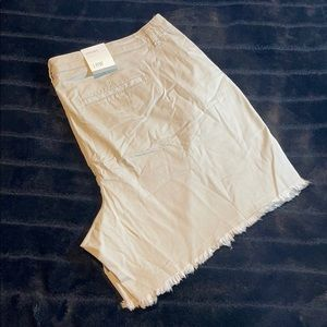 Style & Co - Chino Short - STONE WALL - 18W - NWT